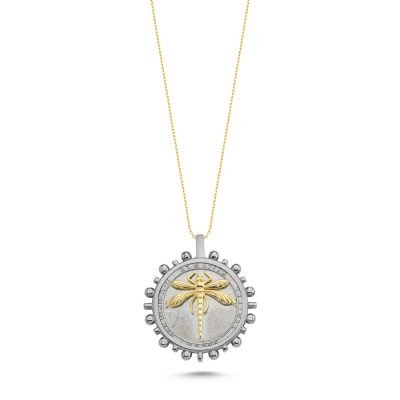 Yusufcuk Güneş Gümüş Madalyon Kolye